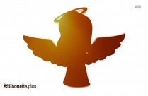 Snow Angel Wings Silhouette Vector And Graphics