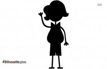 Pregnant Women Clipart Silhouette