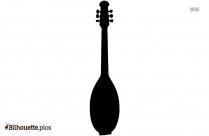 Violin Vector Silhouette Illustration