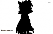 Swift Heart Rabbit Silhouette Drawing