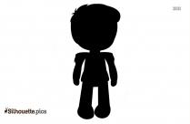 Little Boy Silhouette Picture, Clipart