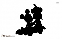 Prince Mickey Mouse Silhouette Clip Art