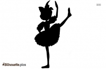 Ballerina Princess Dress Silhouette Vector And Graphics