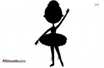 Princess Ballet Silhouette, Ballet Dance Clipart
