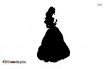 Princess Belle Silhouette Picture