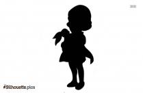 Princess Baby Girl Silhouette