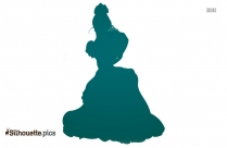 Sleeping Beauty Crown Silhouette Clipart