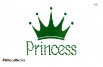 Princess Crown Clipart Silhouette Illustration
