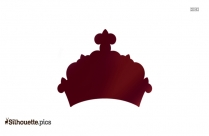 Princess Crown Silhouette Illustration