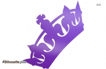 Cartoon Crown Silhouette Drawing Free Download