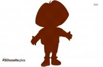 Princess Dora Drawing Silhouette Image