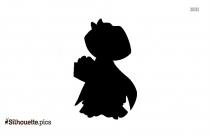 Cartoon Dora The Explorer Silhouette Image