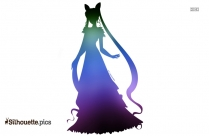 Snow White Princess Silhouette Image For Free