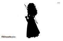 Arabian Night Princess Silhouette