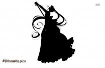 Princess Lady Serenity Silhouette Image