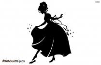 Disney Princess Vector Silhouette Image