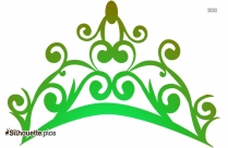 Princess Crown Vector Silhouette