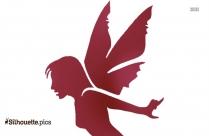 Fairy Stencils Silhouette Picture