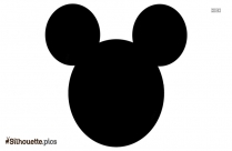 Printable Mickey Mouse Silhouette Picture