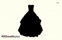 Tea Length Dress Silhouette