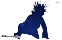 Psycho The Weasel Silhouette