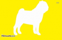 Pet Animals Silhouette Vector, Dog Silhouette Image