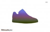 Puma Walking Shoe Silhouette Drawing