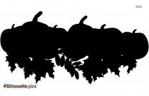 Halloween Pumpkin Logo Silhouette For Download
