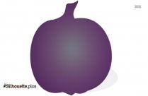 Pumpkin Cartoon Silhouette