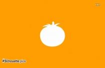 Pumpkin Black And White Silhouette