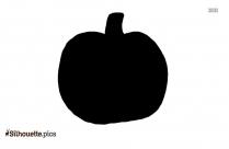 Fall Pumpkin Silhouette Image