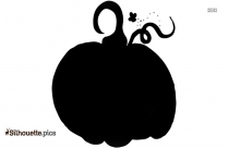 Halloween Pumpkin Border Silhouette