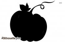 Fat Pumpkin Silhouette