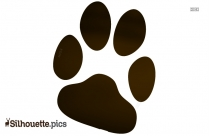 Pup And Girl Clipart Silhouette