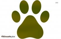 Dog Paw Animal Silhouette