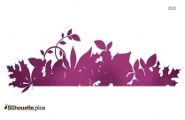 Wildflower Clipart Transparent Silhouette