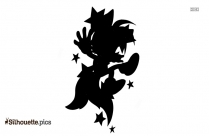 Pygmy Fox Silhouette Drawing