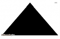 Pyramid PNG Silhouette Image