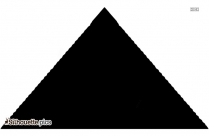 Pyramid Silhouette Vector