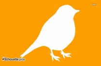Quail Bird Silhouette Illustration