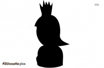 Queen Cartoon Drawing Silhouette Background