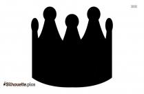 Queen Crown Emoji Silhouette Clipart