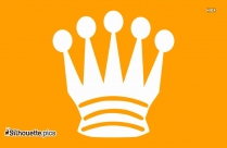 Cartoon Crown Logo Silhouette For Download