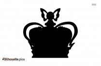 Black Queen Crown Silhouette