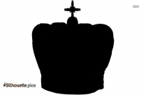 Queen Crown Silhouette Drawing, Vector Art