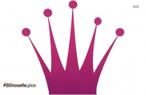 Queen Crown Symbol Silhouette