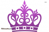 Queen Crown Wallpaper Silhouette