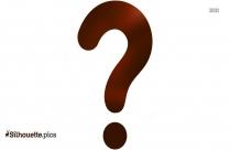 Question Mark Silhouette Clipart