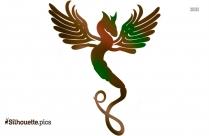 Quetzalcoatl Silhouette Clipart