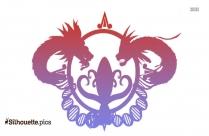 Quetzalcoatl Tattoo Silhouette Background